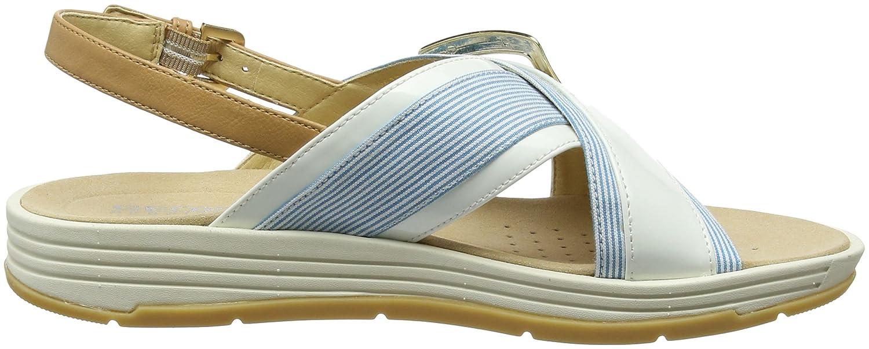 Geox D Koleos F, Sandalias con Punta Abierta para Mujer: Amazon.es: Zapatos y complementos