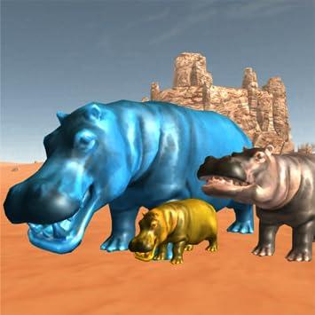 Amazon com: Island Hippo Attack: Survival Game 2018
