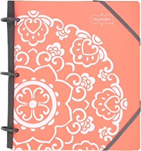 """Mead Organizher Expense Tracker, 3 Ring, 8-1/2"""" x 11"""", Design Will Vary (47008)"""