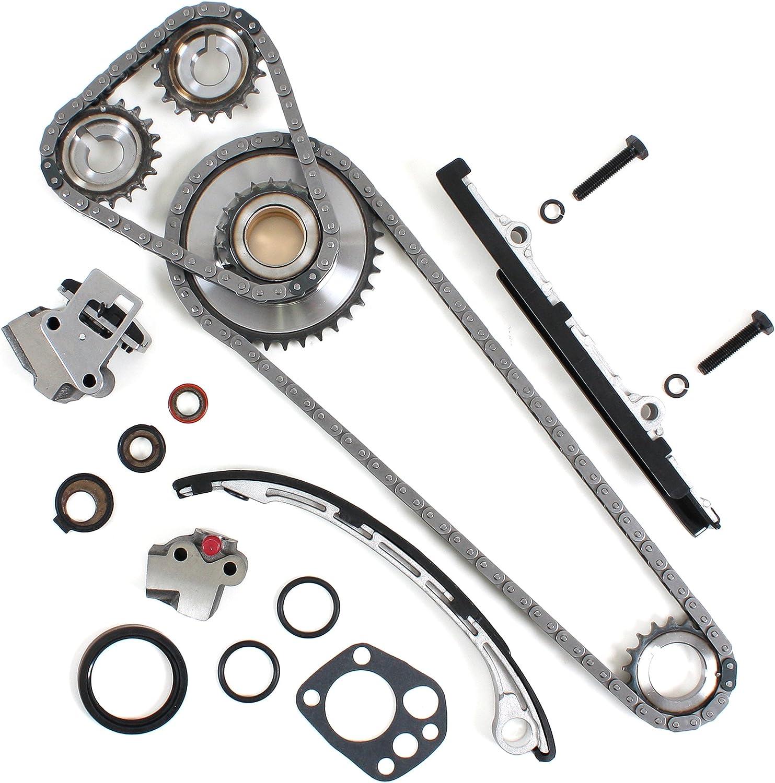 Amazon Com Timing Chain Kit Compatible With 98 01 Nissan Altima 2 4l Dohc Ka24de Engine 98 04 Frontier 01 04 Xterra Automotive
