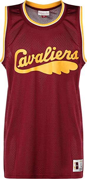 Mitchell & Ness NBA Cleveland Cavaliers Camiseta sin Mangas Burgundy
