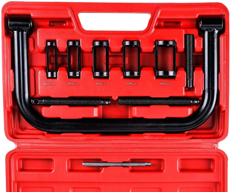 Valve Spring Compressor Kit Removal Installer Car Van Engines Tool Kit 10cp Box