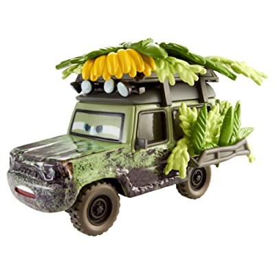 Disney Pixar Cars Oversized Jungle Miles Vehicle: Toys & Games
