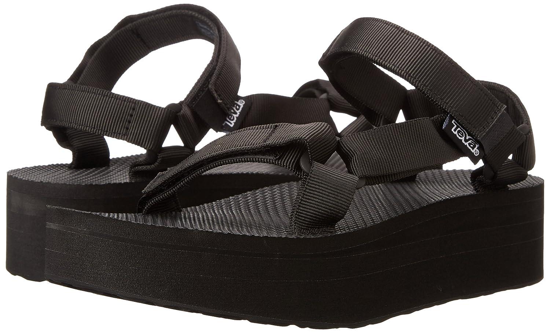 Teva Women's Flatform Universal Sandal B01MZ1JQ9Q 13 D(M) US|Black