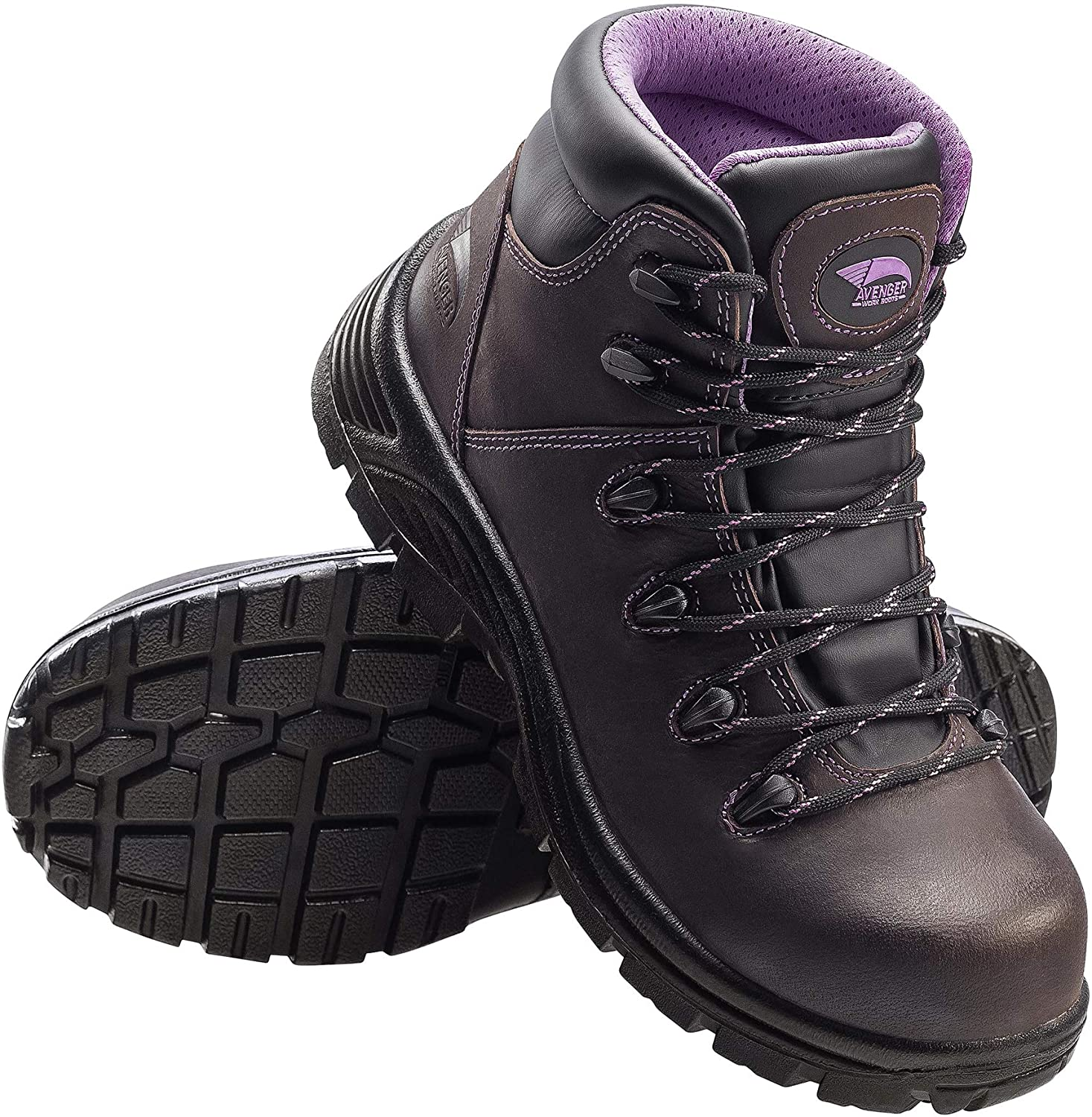 Avenger Work Boots Womens Framer Comp Toe Puncture Resistant Waterproof Boot