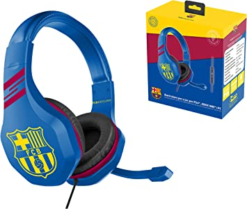 FC Barcelona Auriculares gaming accesorio gamer para PS4, PS4 ...