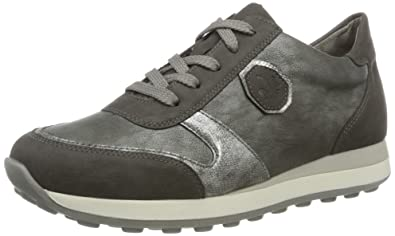Womens N1823 Low-Top Sneakers, Grey, 3.5 UK Rieker