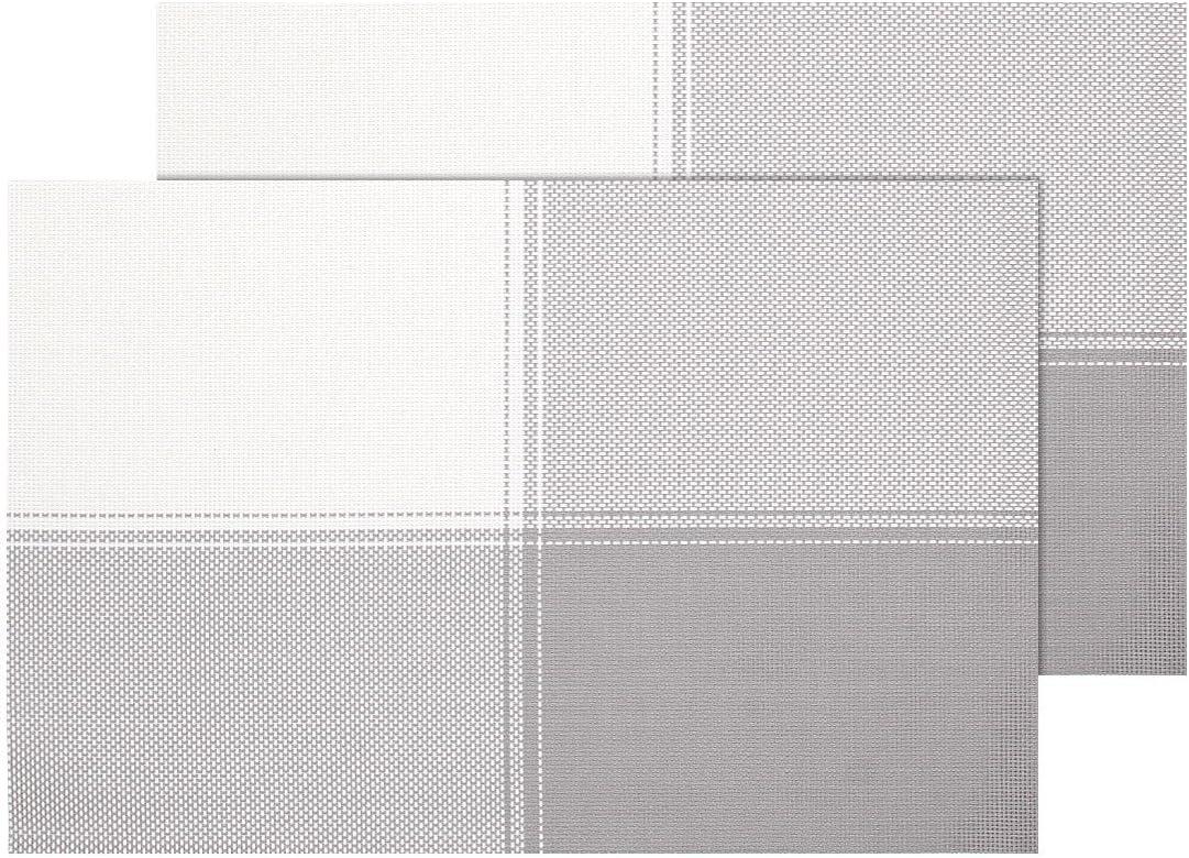 Ts 21 Marrone Per Decorazione Molto Elegante E Durevole Tavolo Cucina Set Da Tavola In Pvc Di Alta Qualita Misure 45 X 30 Cm Alsino 2 Pz Di Tovagliette Americane Decorative Casa E Cucina Tovagliette
