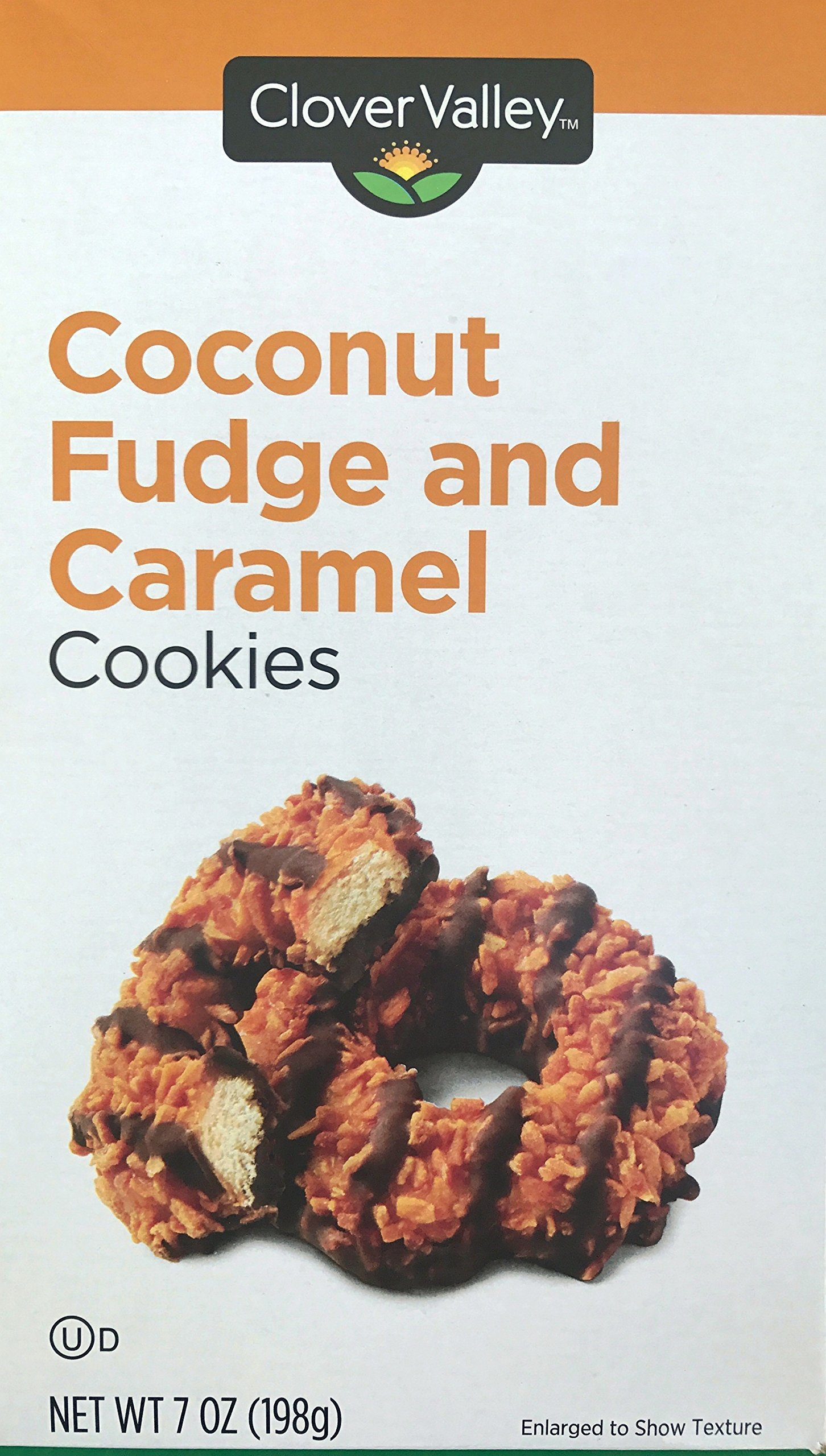 Coconut Fudge and Caramel Cookies 7oz. Just Like Samoas