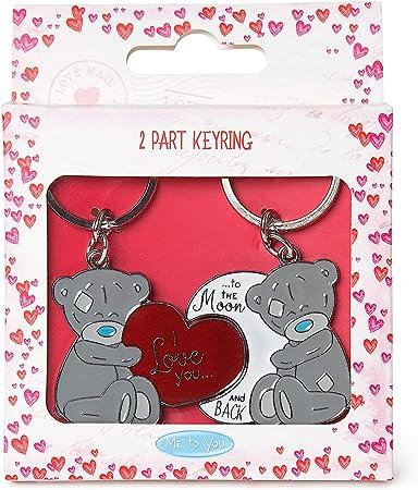 Me To You VGK01008 Love Tatty Teddy Keyring Set