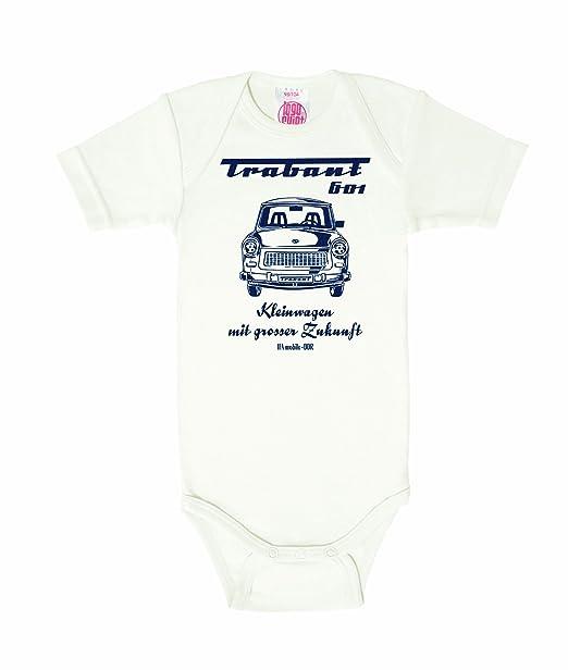 Logoshirt Body - Logotipo - Manga Corta - para bebé Niño - Ecru: Amazon.es: Ropa y accesorios