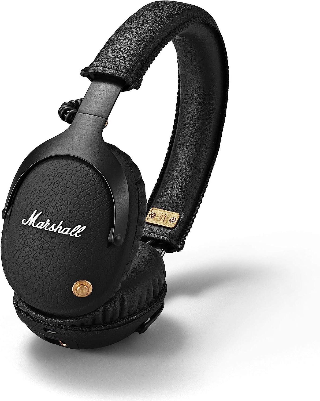 Marshall Monitor Bluetooth Over-Ear Headphone - Black