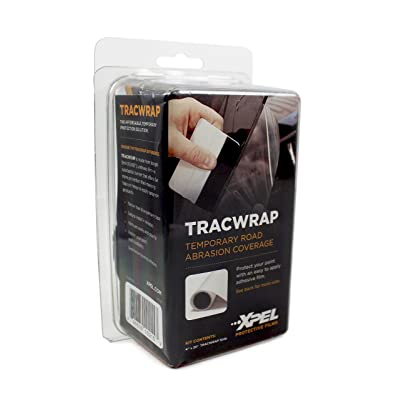 """XPEL TW4T20 Clear 4""""x20' Temporary Paint Protection Film (4"""" x 20',Tracwrap): Automotive"""