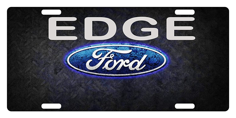 Decorative Front License Plates Aluminum Car Sign Tag 4 Holes 12 X 6 inches