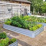 Galvanized Raised Garden Beds for Vegetables