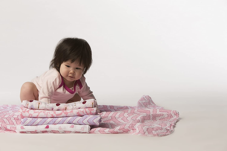 Pastel Blue Little Bunnie Premium Cotton Muslin SwaddleDesigns Marquisette Swaddling Blanket