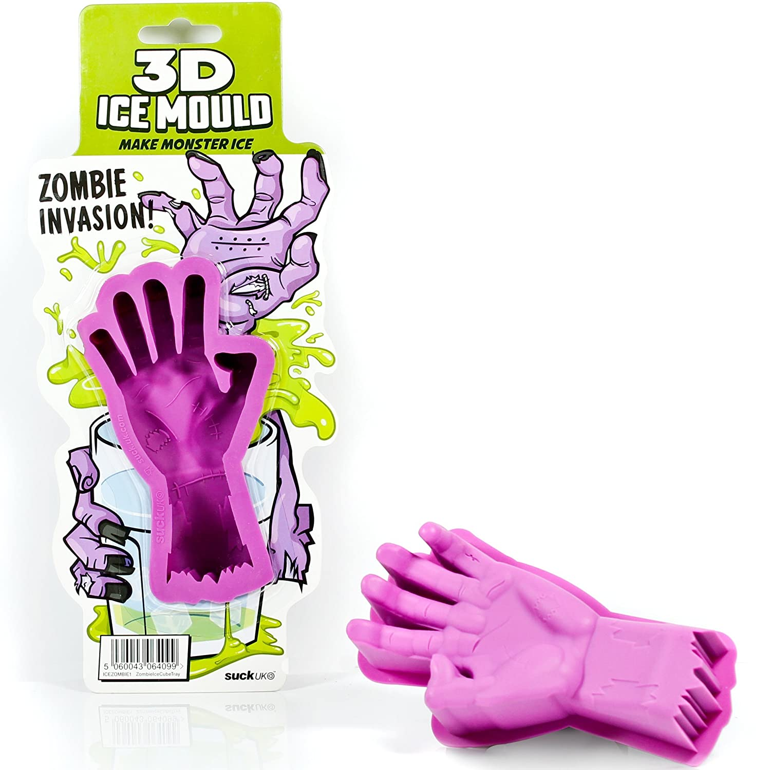 Amazon.com: SUCK UK 3D Zombie Hand Ice Mould: Ice Cube Molds ...