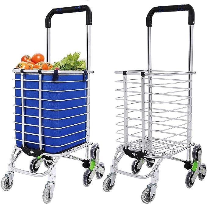 1 carrito de la compra para el hogar 2 supermercado cesta de la compra plegable con ruedas para carrito de la compra reutilizable bolsa de gran capacidad Bolsa plegable con ruedas
