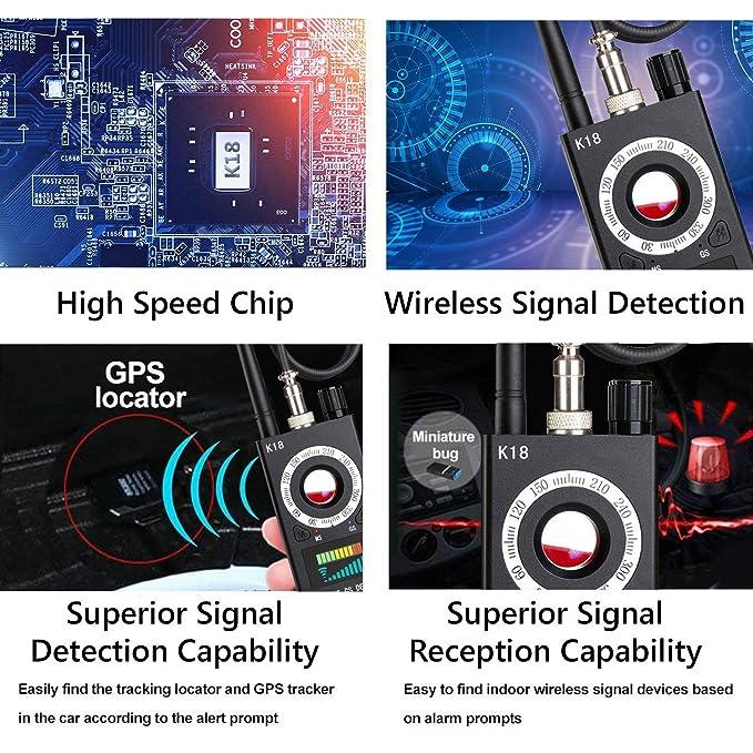 Detector de Cámara Anti-Espía, Detector de señales RF ...