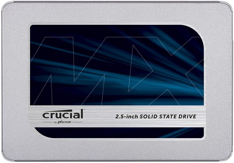 SSD Crucial MX500 500GB 3D NAND SATA 2.5 CT500MX500SSD1