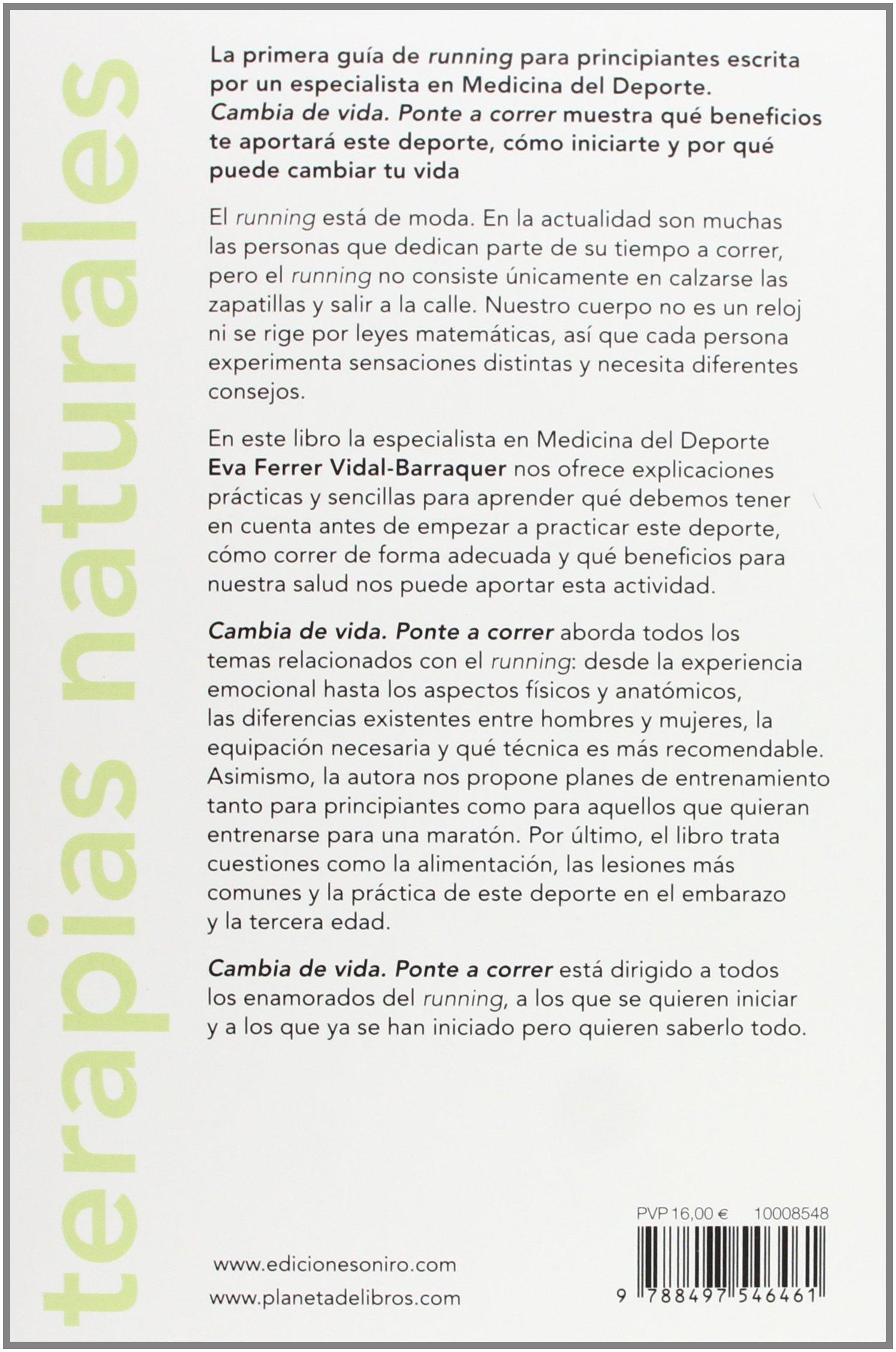 Ponte a correr (Spanish Edition): Eva Ferrer: 9788497546461: Amazon.com: Books