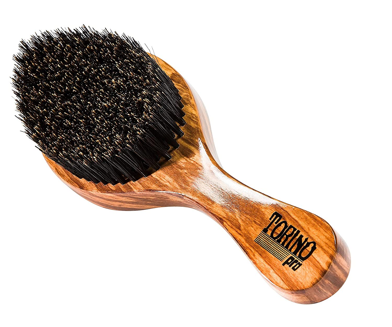 Torino Pro Wave Brush #630 By Brush King - Medium Curve 360 Waves Brush