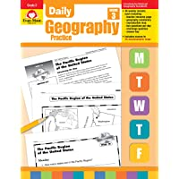 Daily Geography Practice Grade 3: EMC 3712