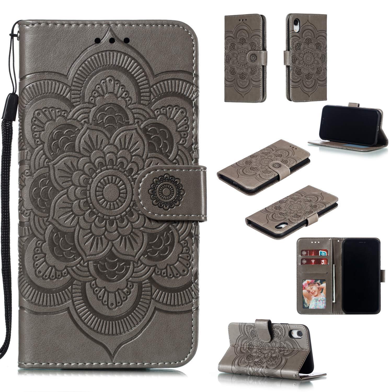 iphone xr wallet case floral