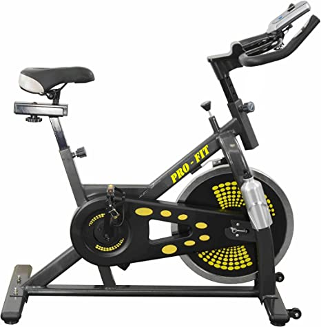UK Fitness Spin Fit Indoor Spinning Bike 13 kg volante de inercia ...