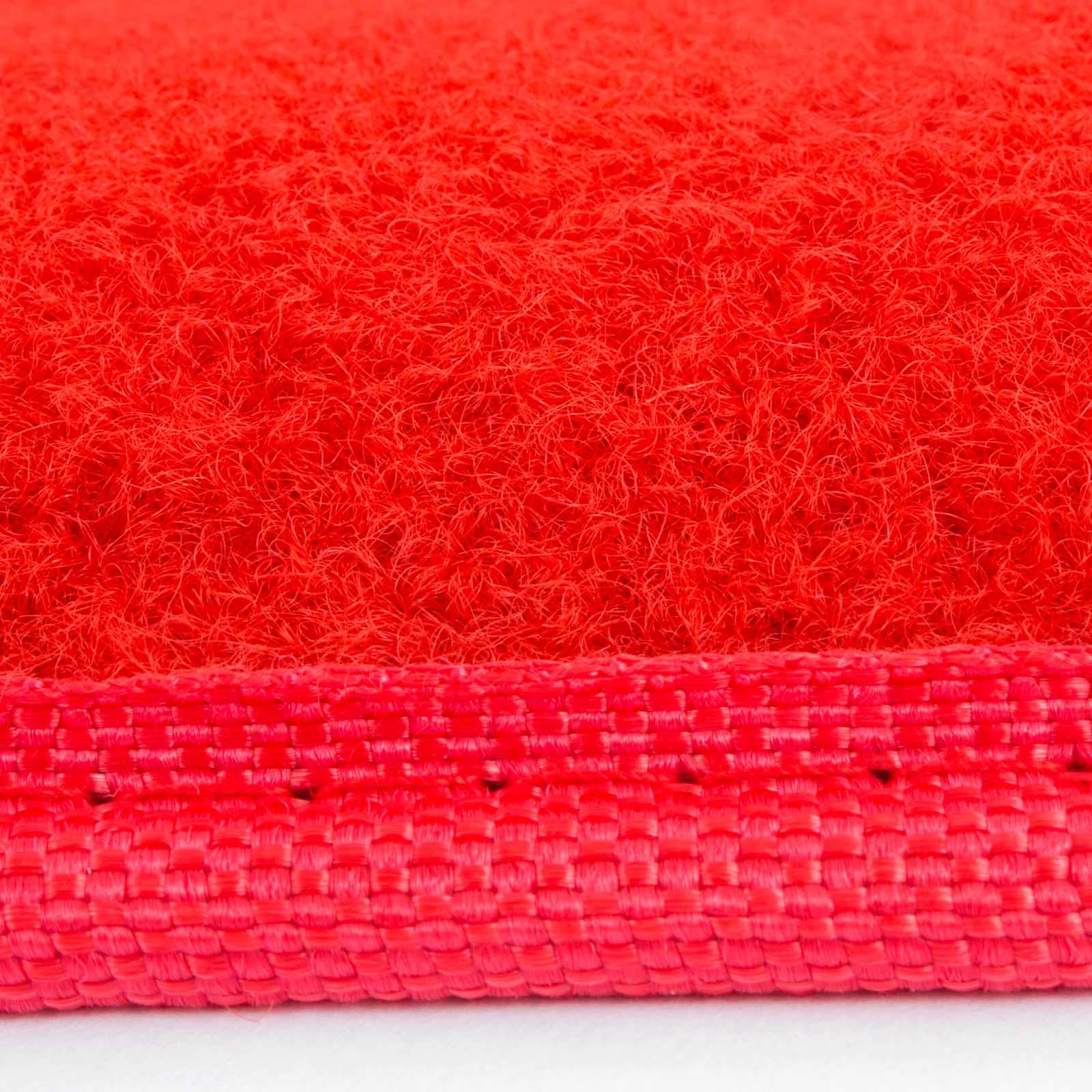 Happybuy 3.3Ft X 13Ft Large Red Carpet Runner Rug Solid TRP Rubber Backed Hollywood Runner Carpet Non-Slip Stair Patio Party Decor Wedding 1M X 4M Aisle Floor Runner Rug - Various Sizes (Red, 3x13Ft) by Happybuy (Image #4)