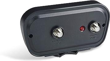 pingbingding HDTV Preamplificador, Amplificador de señal de Antena de TV, Amplificador de señal HD Digital VHF UHF, Filtro 4G LTE