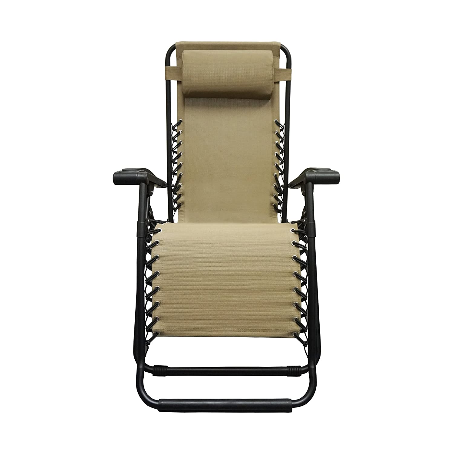 Amazon Caravan Sports Infinity Zero Gravity Chair Beige