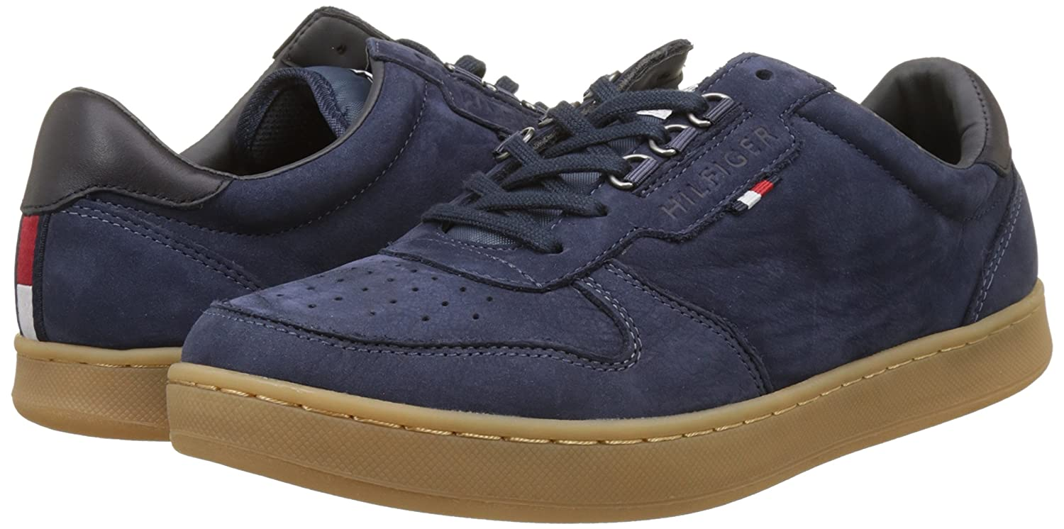 Tommy Hilfiger H2285oxton 1n, Baskets Basses Homme: Amazon