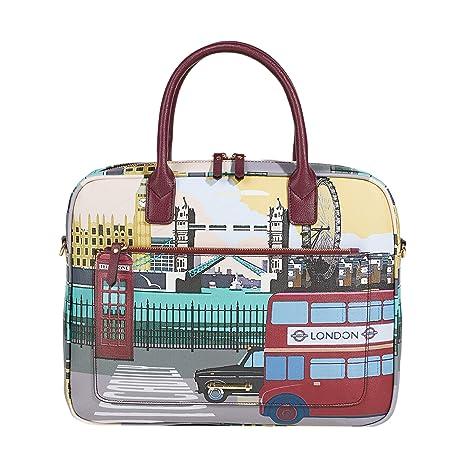 Parfois - Maletín London To Paris Travel - Mujeres - Tallas S - Mostaza
