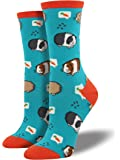 "Socksmith Womens' Novelty Crew Socks ""Guinea Pigs"" - 1 pair"