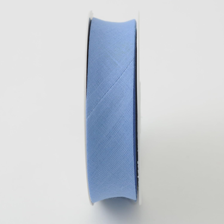 kornblumenblau Inastri 25//5//5 mm Baumwollschr/ägband