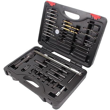 Set de herramientas para desmontaje de bujías universal, para reparación, M8, M10