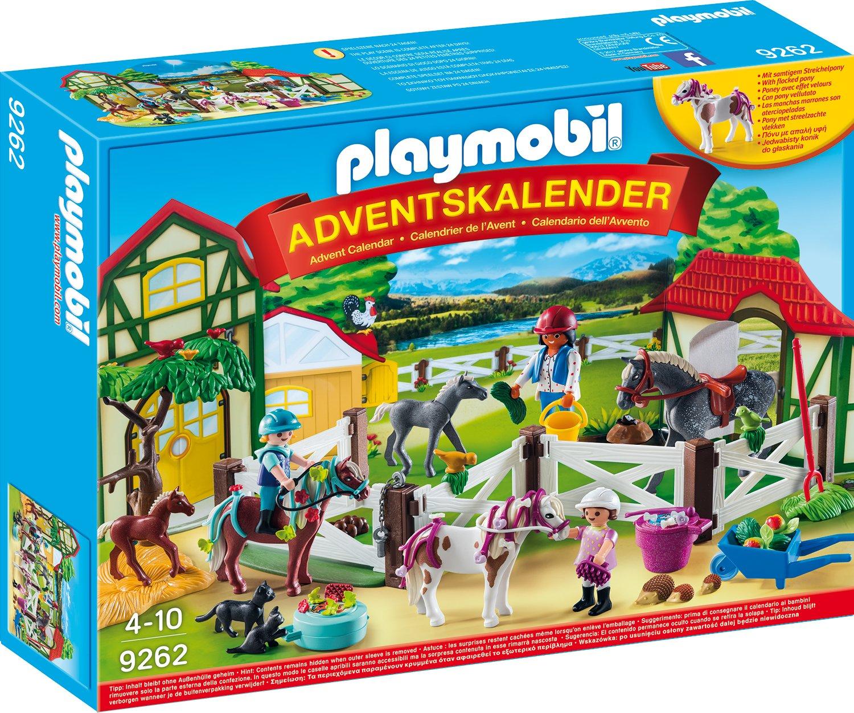 Playmobil 9262 - Adventskalender Reiterhof de toys GEOVR