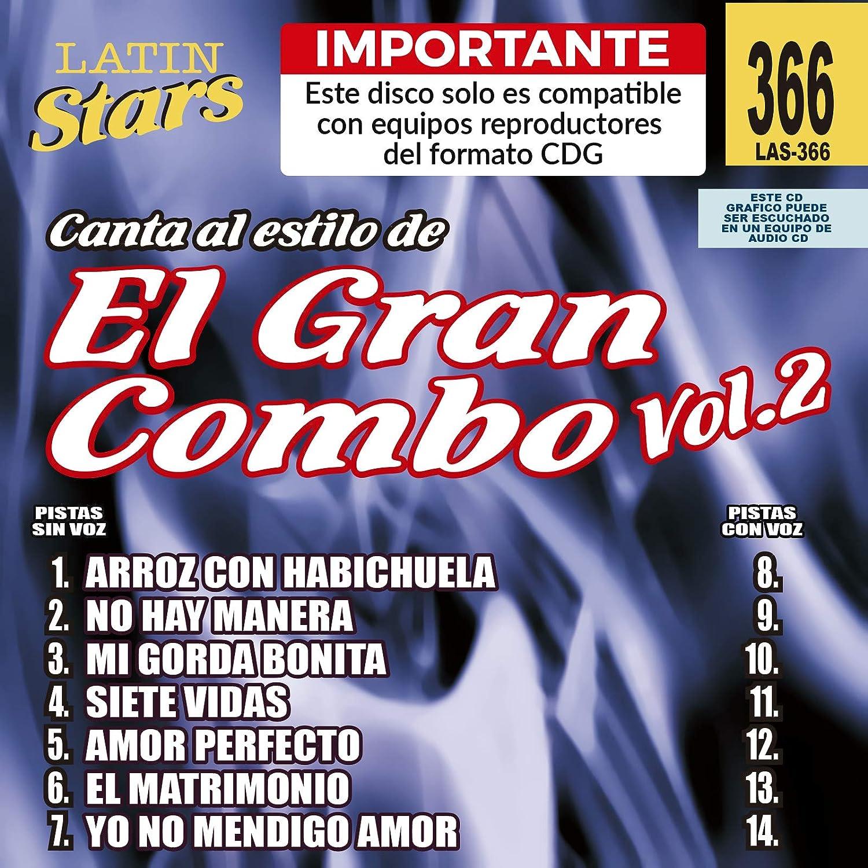 Vol. 2-Karaoke Latin Stars                                                                                                                                                                                                                                                    <span class=