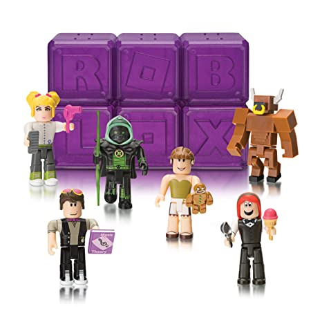 Details About Roblox Celebrity Collection Series 3 Mystery Pack Purple Cube - Roblox Celebrity Collection Series 3 Mystery Figure Six Pack