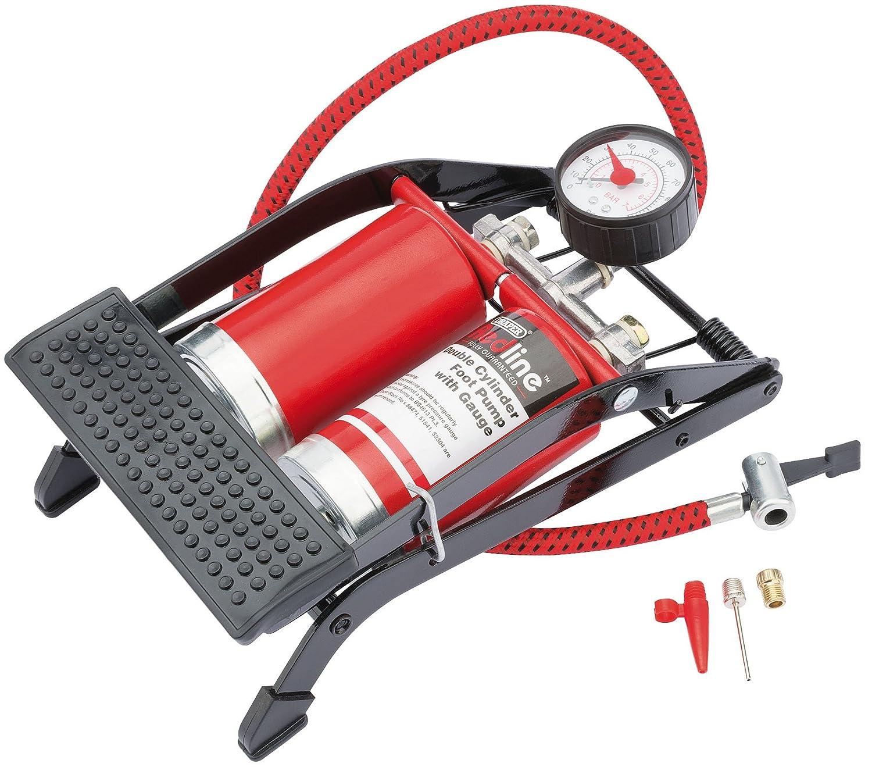 Draper Redline 68473 Double Cylinder Foot Pump
