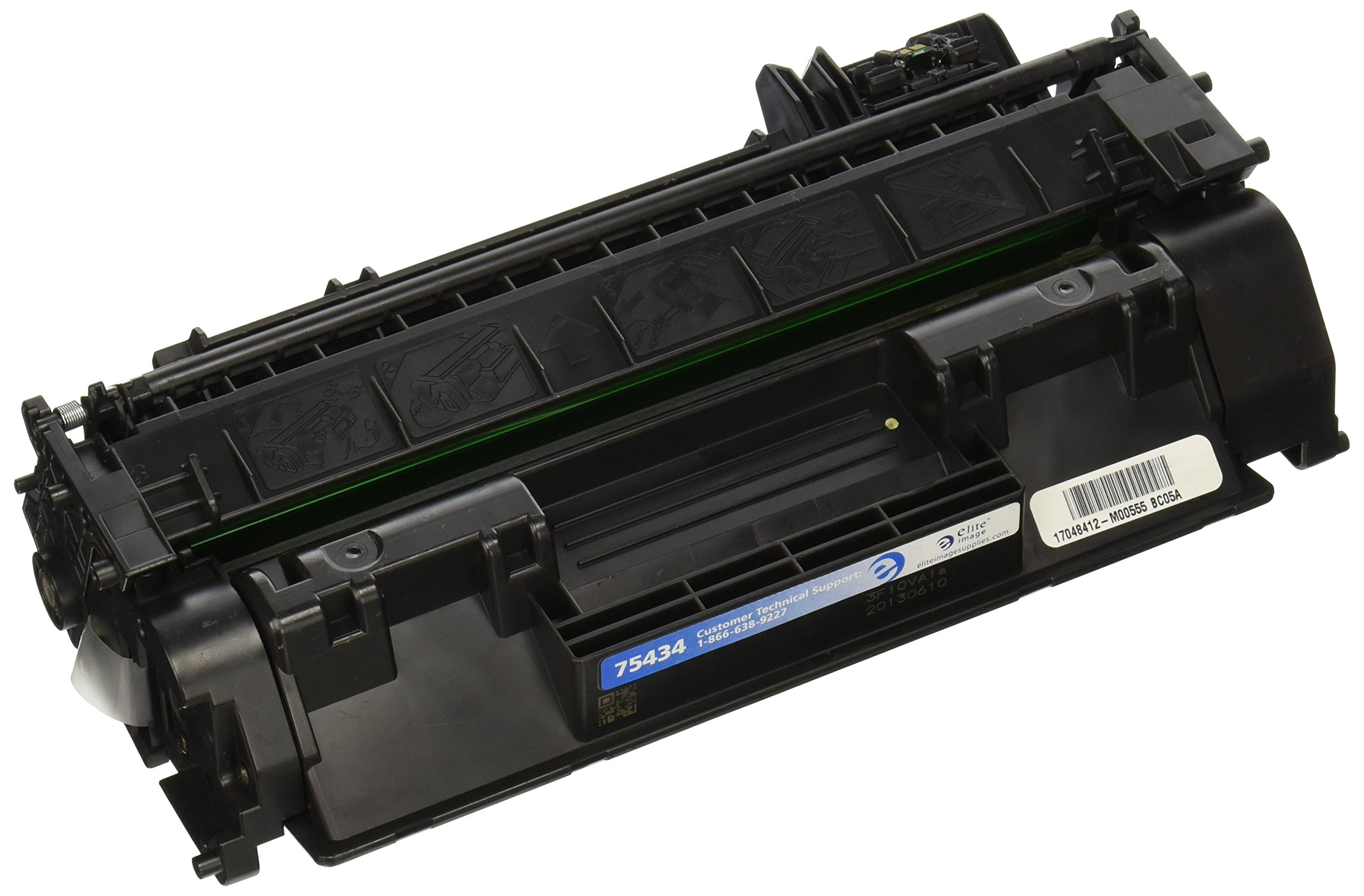 Elite Image ELI75434 Compatible Toner Replaces HP CE505A (05A), Black