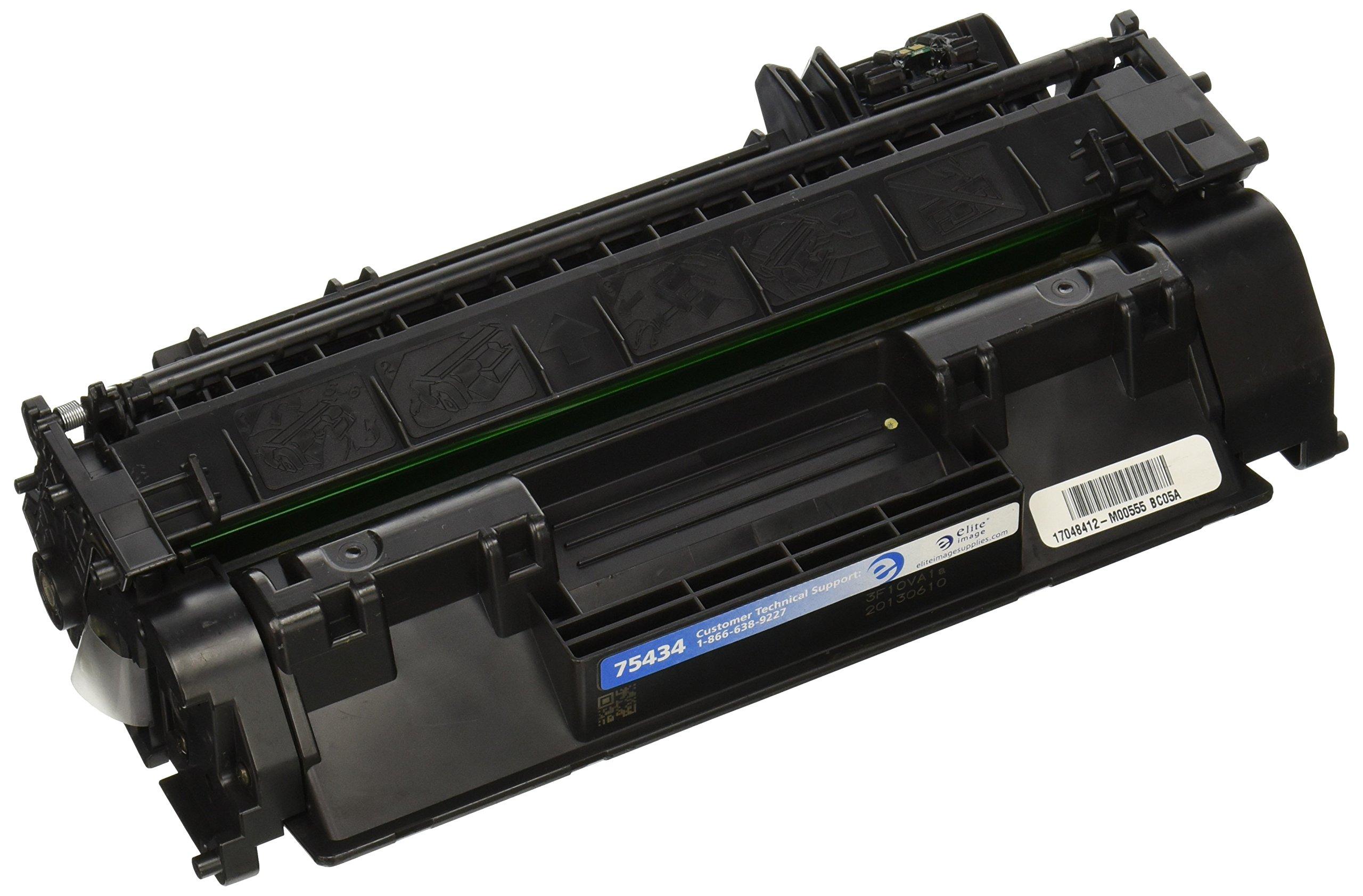 Elite Image ELI75434 Compatible Toner Replaces HP CE505A (05A), Black by Elite Image (Image #1)