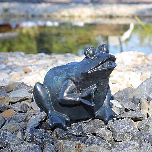 comparer les prix design distinctif riche et magnifique CLGarden Gargouille Figurine Grenouille pour étang Fontaine ...