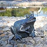 CLGarden Gargouille Figurine Grenouille pour étang Fontaine Gargouille Figurine