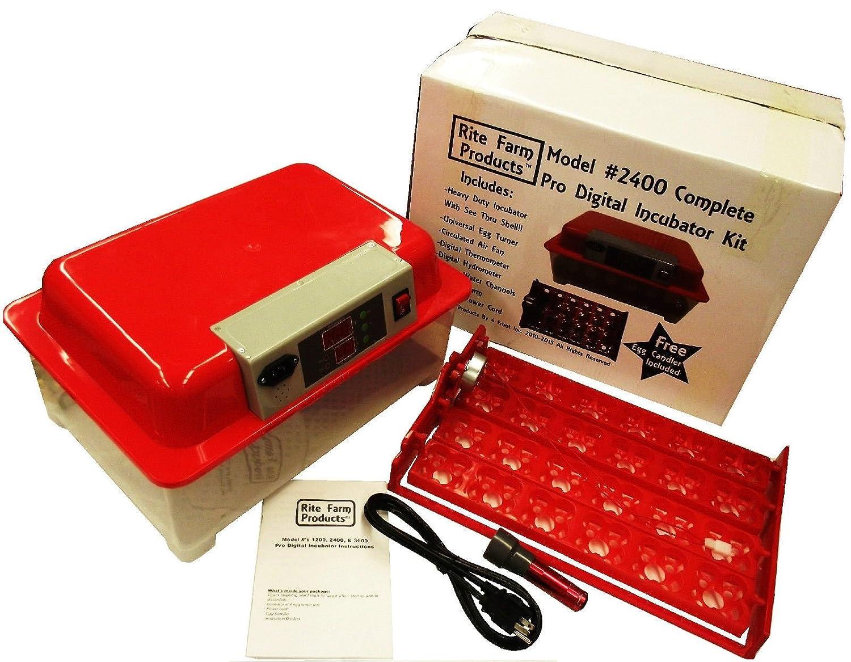 Cabinet Incubator Kit Amazoncom Rite Farm Products 2400 Pro Digital 96 Quail 24