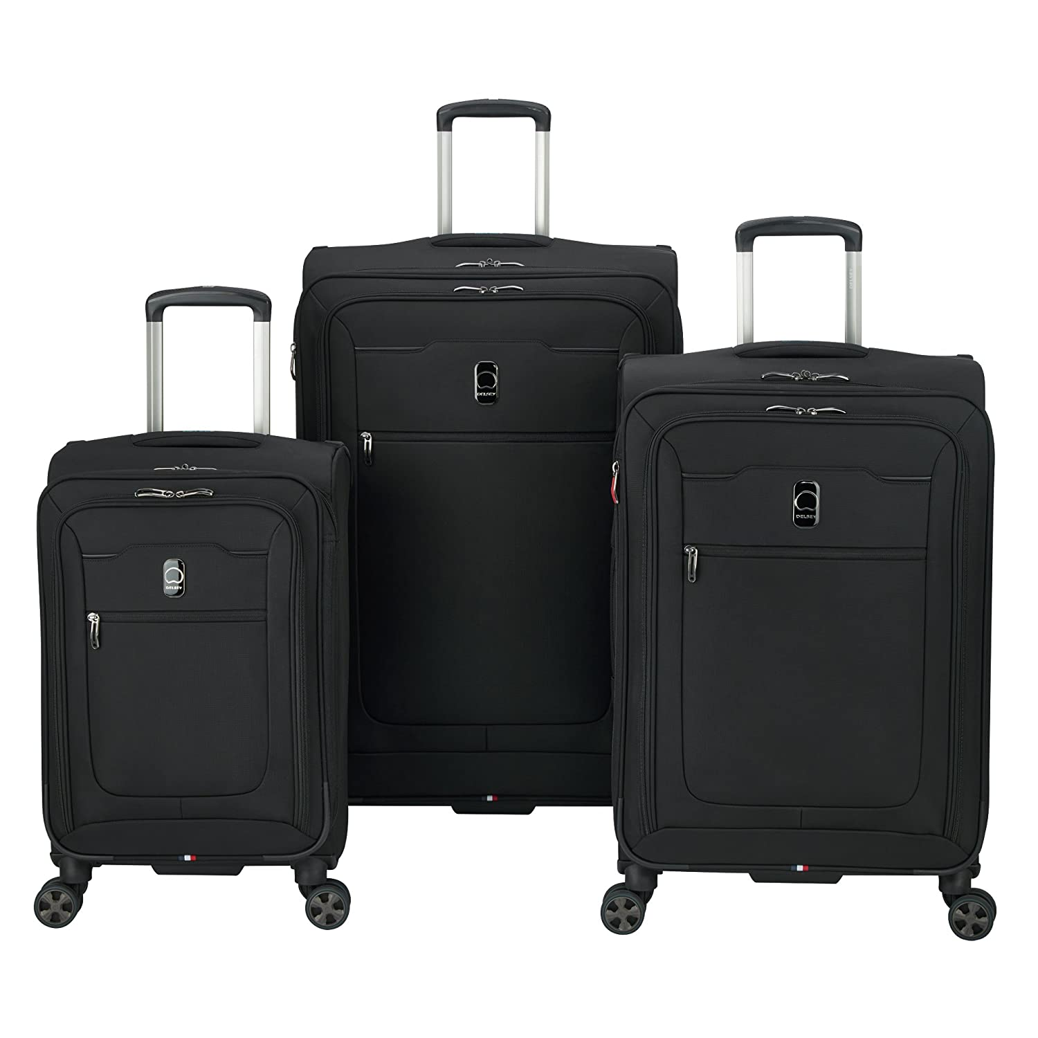 010b7dd2cd35 Delsey Luggage Hyperglide 3-Piece Nested Set