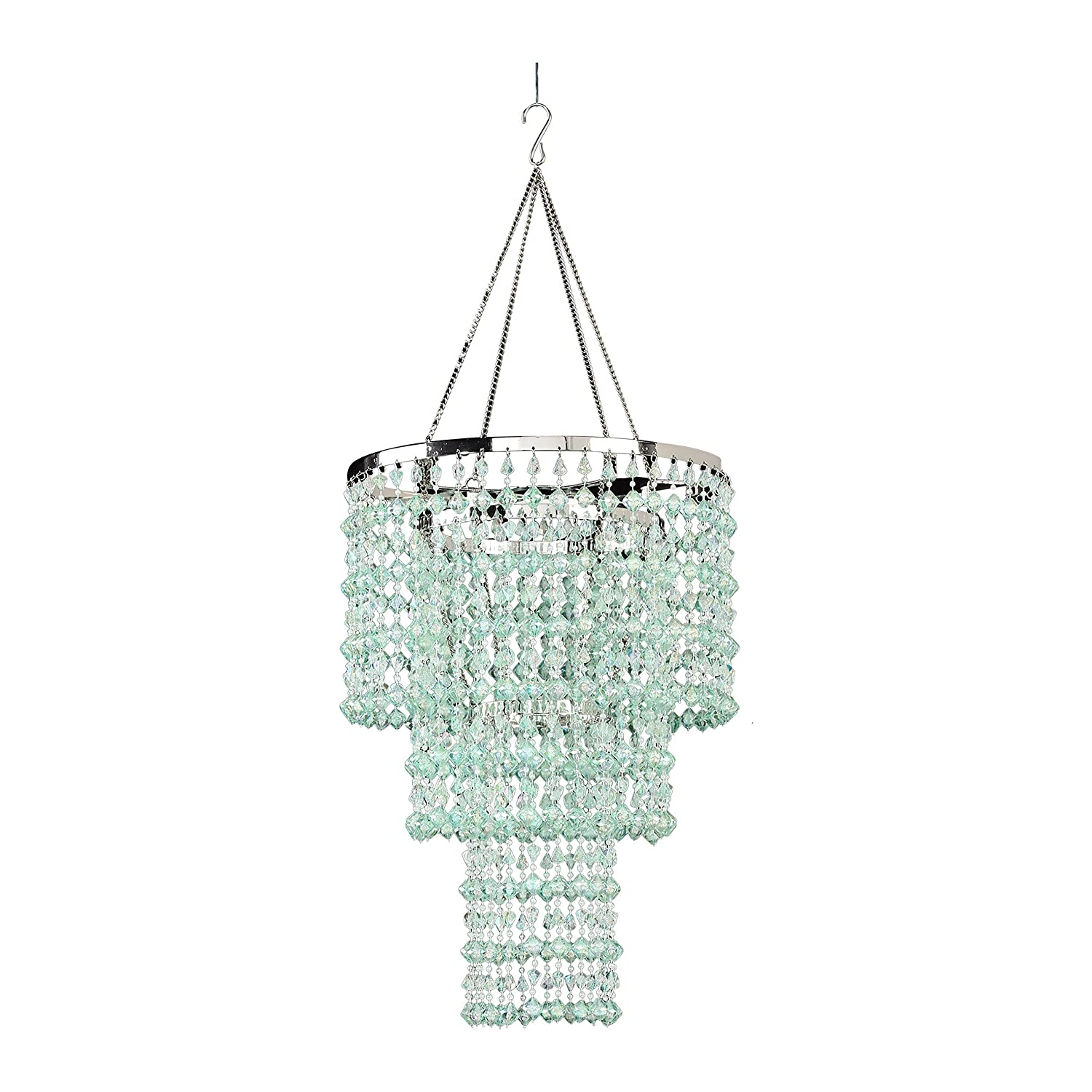 Amazon zappobz hll14 gemstone chandelier mint green home amazon zappobz hll14 gemstone chandelier mint green home kitchen arubaitofo Image collections