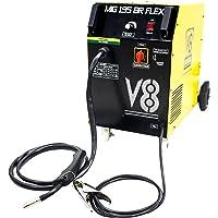 Maquina Solda Mig/Mag 195BR com e sem Gás, 220V, V8 Brasil 107608