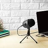 AmazonBasics Desktop Mini Microphone Gen2-Black